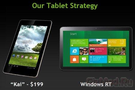 Планшет NVIDIA Kai с Android за $199