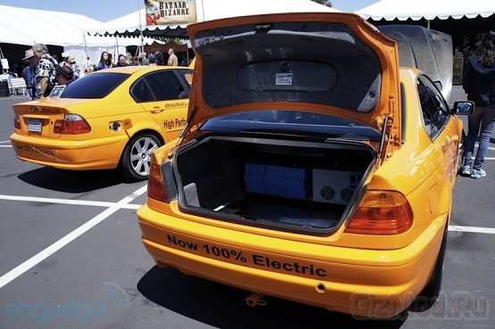Электрические монстры BMW
