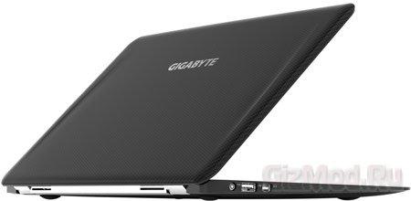 GIGABYTE анонсировала очень легкий ноутбук