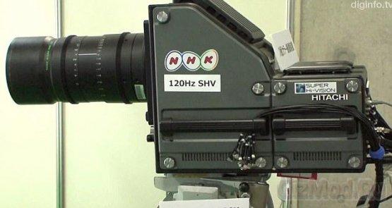 Камера NHK пишет 4 млрд пикселей в секунду
