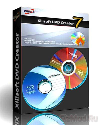 Xilisoft DVD Creator 7.1.3.20131111 - авторинг  DVD