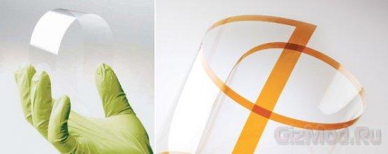 Willow Glass - ультратонкое и гибкое стекло