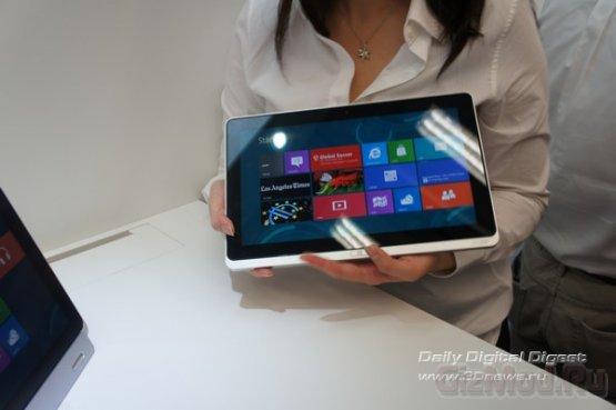 Acer делает ставку на ультрабуки и Windows 8