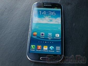 Samsung Galaxy S III в Российских магазинах