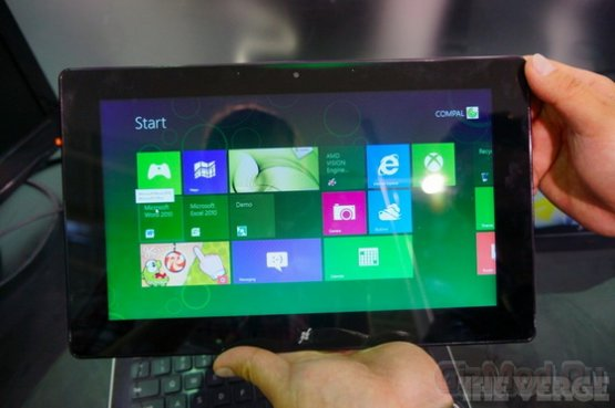 AMD показала планшет на базе Windows 8