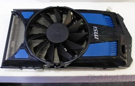 Наращиваемая система охлаждения видеокарт MSI