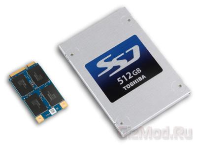 Первые SSD Toshiba на 19-нм чипах NAND-памяти