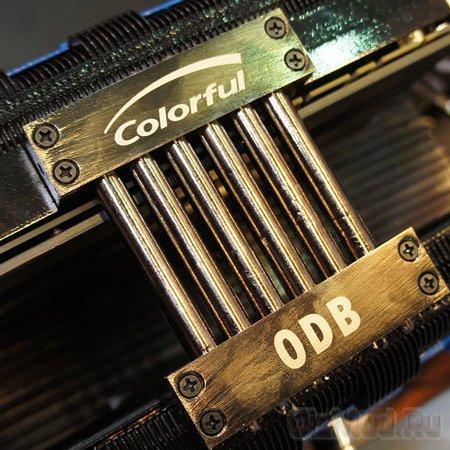 5-тислотовая карта Colorful GeForce GTX 680 iGame