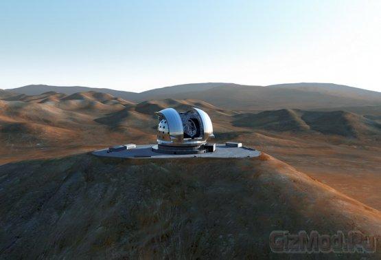 Одобрен гиганский наземный телескоп E-ELT