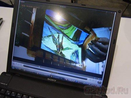Гибкая OLED-панель Sony