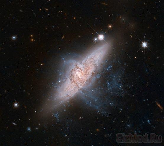Две галактики хотели обмануть ученых