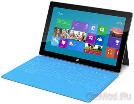 Планшеты Microsoft Surface под управлением Windows