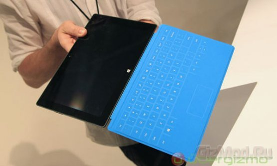 Планшеты Microsoft Surface вживую