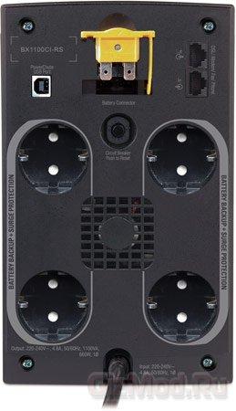 Флагманский бесперебойник APC Back-UPS 1100