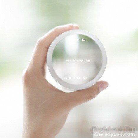 Прототип камеры с управлением глазами