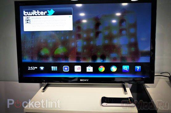 Google TV идет в Европу