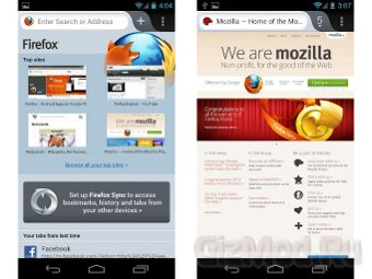 Mozilla ускорила Firefox для Android