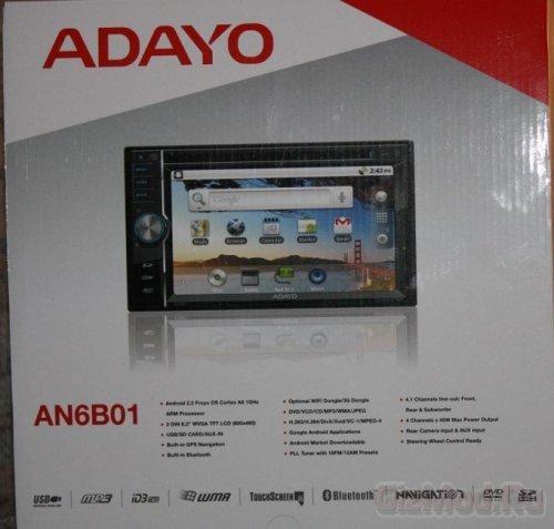 Автомагнитола Adayo под управлением Android