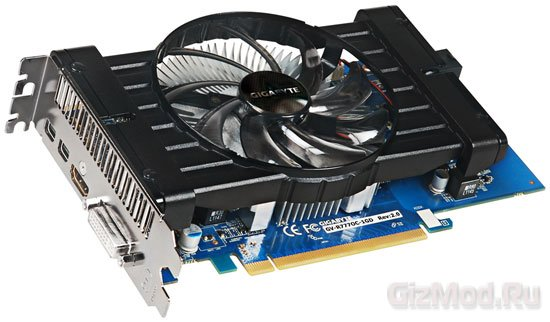 GIGABYTE Radeon HD 7770 с 1050 МГц