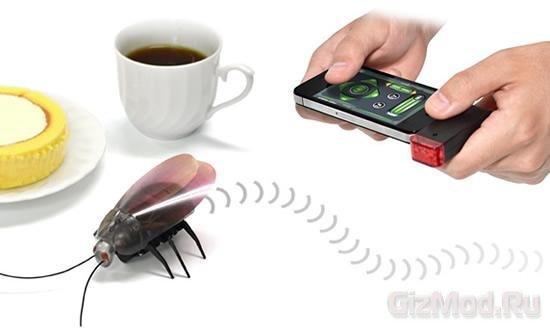 Роботаракан Roachbot