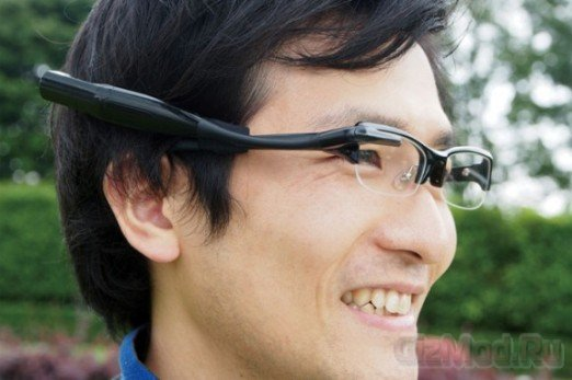 Альтернатива Google Project Glass от Olympus
