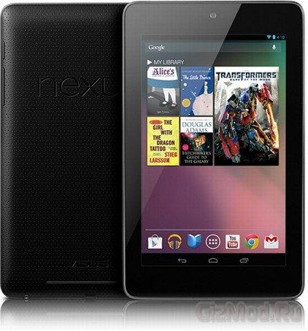 Внутренности планшета Nexus 7
