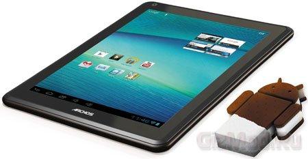 Свежеиспеченный планшет Archos Elements 97 Carbon