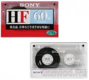 Новая линейка аудиокассет Sony