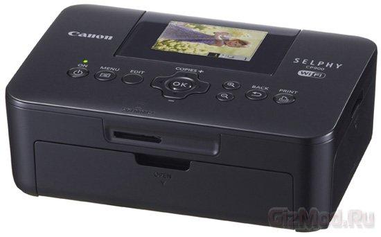 Компактный фотопринтер Canon SELPHY CP900 с Wi-Fi