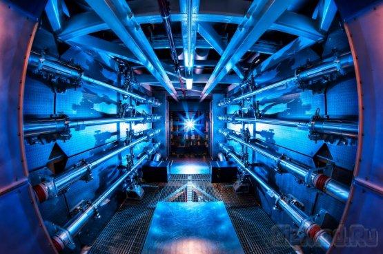 Лазер NIF преодолел рубеж мощности 500 тераватт