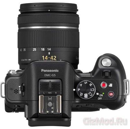 Беззеркальная камера Panasonic DMC-G5