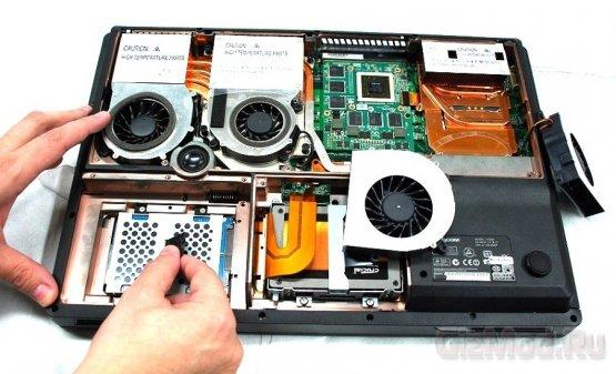 Eurocom оснастила ноутбук картой NVIDIA Quadro K5000M