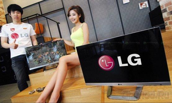 LG выпустила 3D Full HD ТВ-монитор DM2792D с рамкой 1 мм