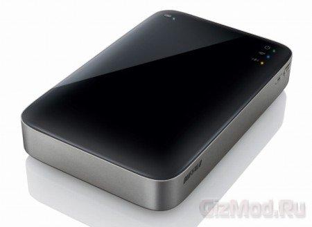 Buffalo представила беспроводной  HDD MiniStation Air