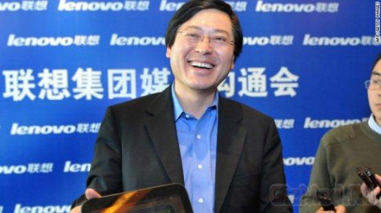 Глава Lenovo раздает миллионы