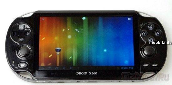 Droid X360 - PS Vita под управлением Android