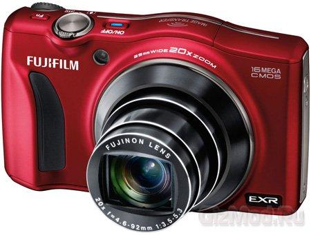 Fujifilm FinePix F800EXR с 20-кратным зумом и Wi-Fi