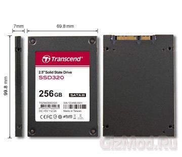 Тонкие SSD-накопители Transcend SSD320