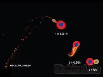 Новый сценарий образования Луны