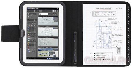 Планшетные компьютеры Casio Paper Writer