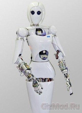 Робот-девушка AILA отправится на МКС
