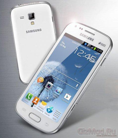 Двухсимник Samsung Galaxy S Duos (S7562) на Android 4.0