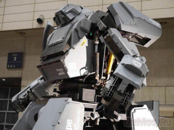 Kuratas: гигантский вооруженный робот