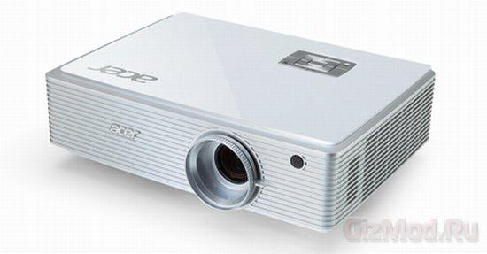 Acer представила гибридный проектор K750