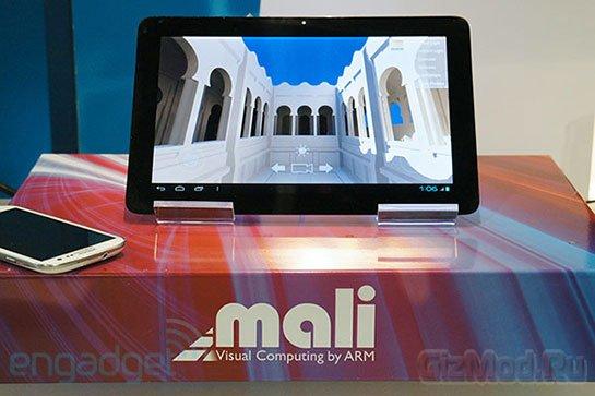 Результаты ARM Mali-T604 в связке с Cortex-A15