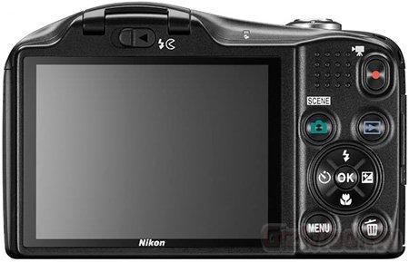 Цифрокомпакт Nikon Coolpix L610 с 14х зумом
