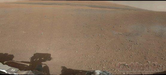 Первая цветная панорама с борта MSL Curiosity