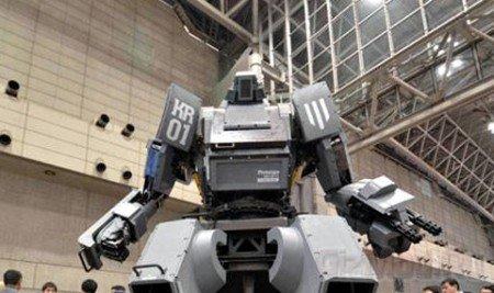 Боевой робот Kuratas