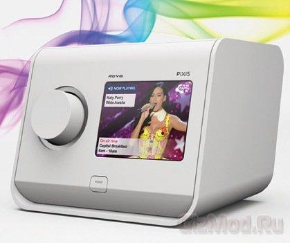 Радиоприемник Revo PiXiS с цветным сенсорным дисплеем