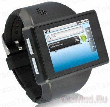 Смартфон-наручные часы Rock Android Watch Phone